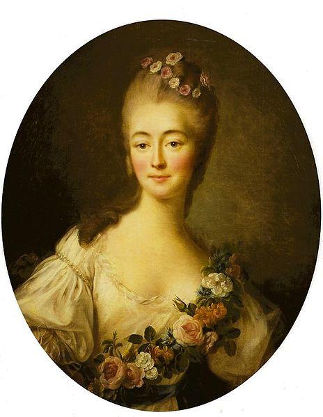464px-François-Hubert_Drouais,_Portrait_de_la_comtesse_Du_Barry_en_Flore_(1769)
